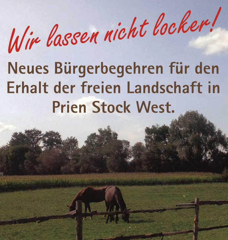 Pferdeweiden-Plakat gekuerzt
